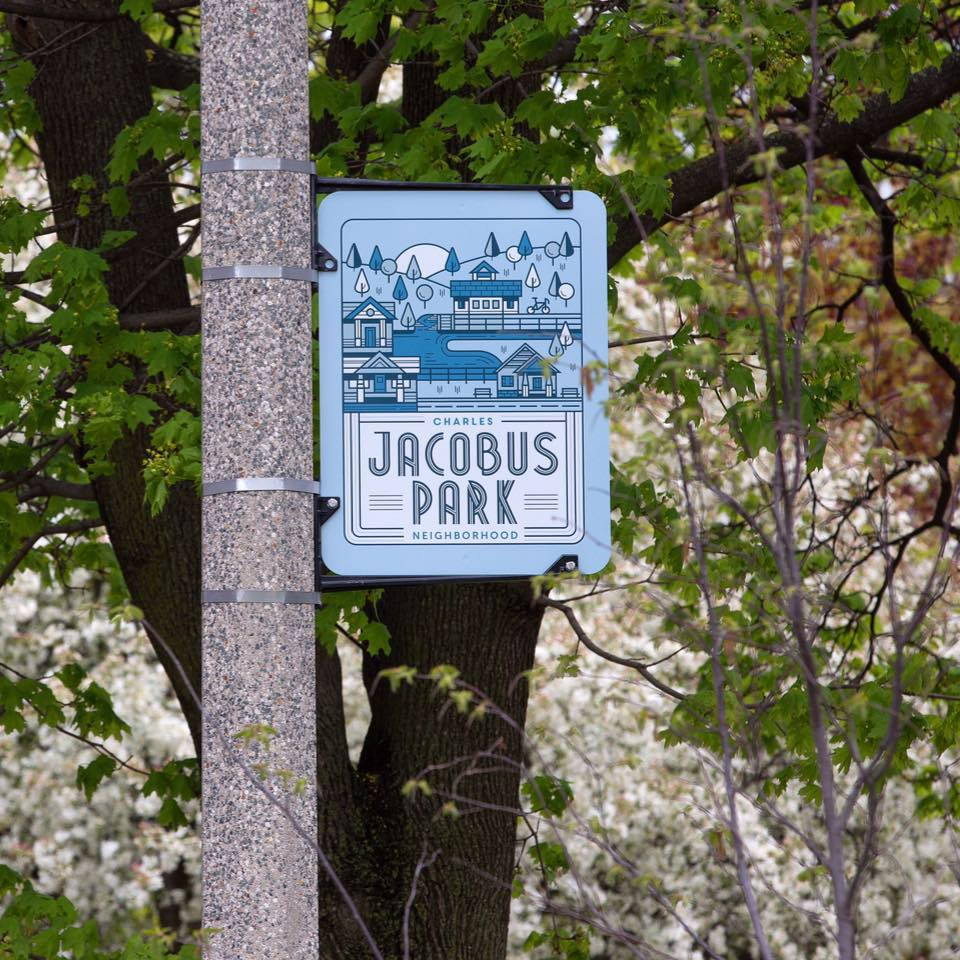 Jacobus Park Sign