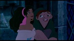 Esmeralda y Cuasimodo
