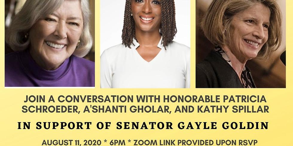 Send Gayle Back to the RI Senate!