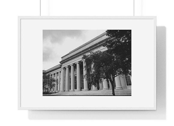 MIT - Premium Framed Horizontal Poster