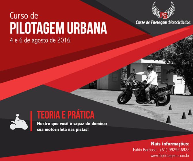20ª Edição do Curso de Pilotagem Urbana