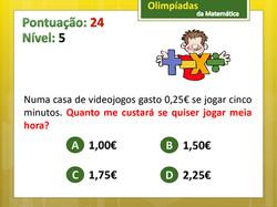 Olimpíadas da Matemática 1