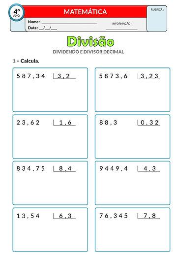 4 - Operações_divisão - numerais decimai