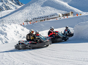 Karting circuit glace - T.Loubere OT Val