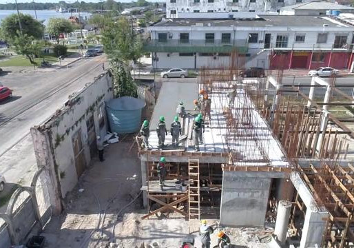 Avança na fase de laje a construção do Santuário de Barcarena
