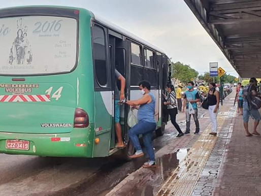 Pessoas acima de 60 anos e menores de 18 estão proibidas de circular nas vans de Barcarena