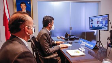 Helder e investidores russos tratam sobre investimentos portuários em Barcarena
