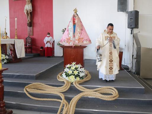 Sem Círio pelas ruas de Barcarena, corda da procissão enfeita igreja e será distribuída