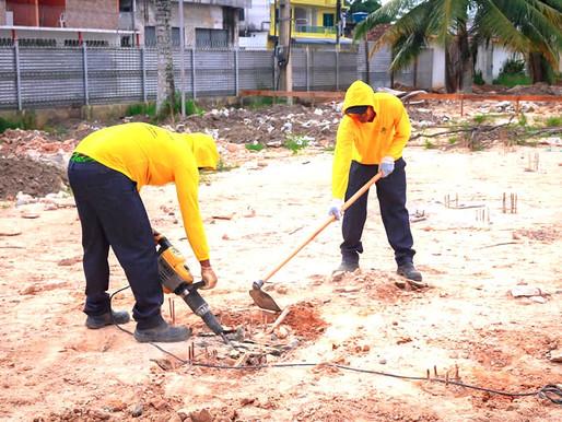 Inicia segunda fase de construção da nova Igreja Matriz de Barcarena