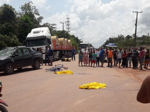 Duas crianças morrem atropeladas em acidente em Barcarena
