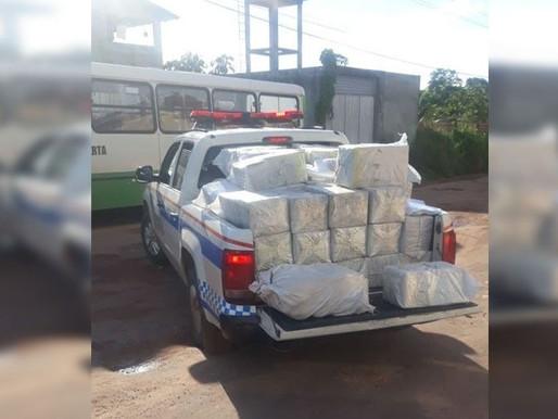 Polícia apreende duas toneladas de cocaína em Barcarena