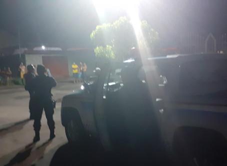 Polícia de Barcarena persegue dois de moto
