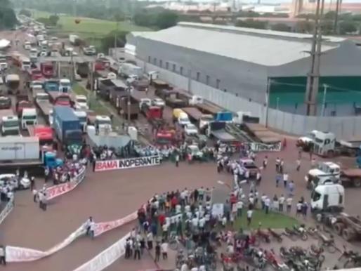 Madeireiros encerram protesto em Vila do Conde