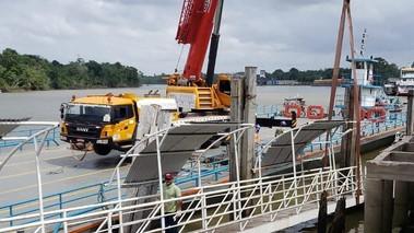 Inicia recuperação da estrutura do Terminal Hidroviário de Barcarena