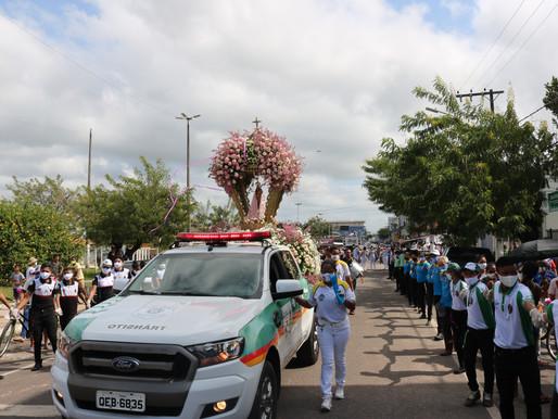 Católicos de Barcarena homenageiam Nsa Sra de Nazaré em carreata neste domingo