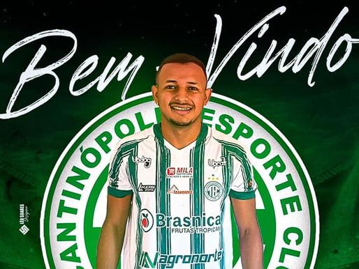Barcarenense Eric Vieira é contratado como lateral-esquerdo no Tocantinópolis, do Tocantins