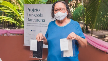 Comunidades de Barcarena recebem doação de máscaras faciais para proteção à Covid-19