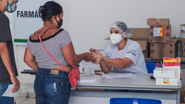 Policlínica do Estado atende casos de Covid em Barcarena nesta sexta (23)