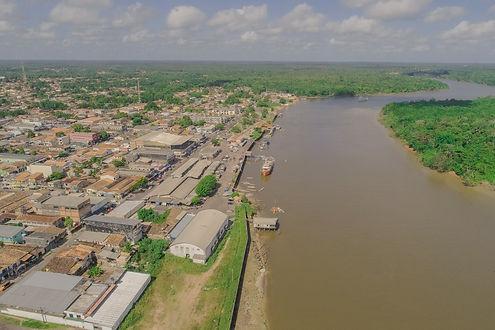 Barcarena vista aérea por Ascom PMB