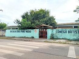 Escola Cônego será reconstruída e está na fase de licitação, anunciam autoridades