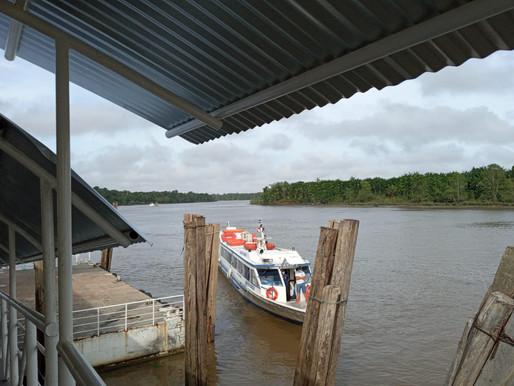 Retomam viagens de barco e ônibus pra Belém sem declaração
