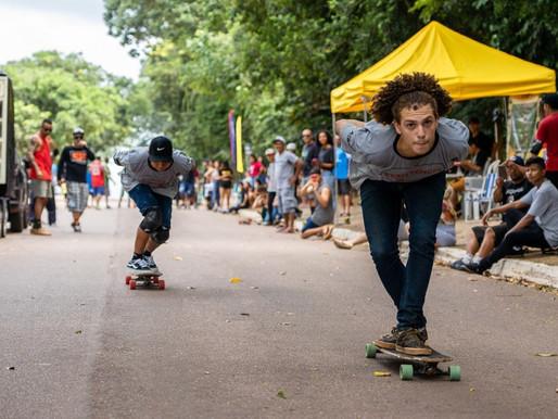 Skatistas participam do 1º Rolê de Skate em Vila dos Cabanos