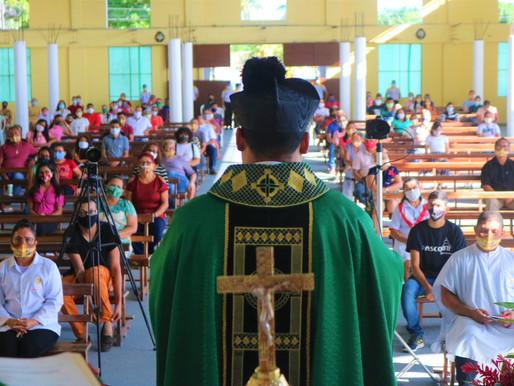 Igreja Católica de Barcarena reabre para missas com fortes medidas contra a Covid-19
