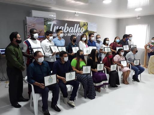 Prefeito, vice-prefeita e vereadores eleitos em Barcarena são diplomados