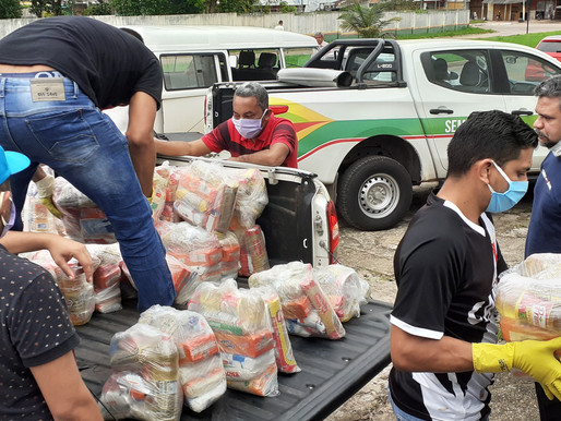 Entrega do kit alimentar para alunos de Barcarena agora será nas escolas