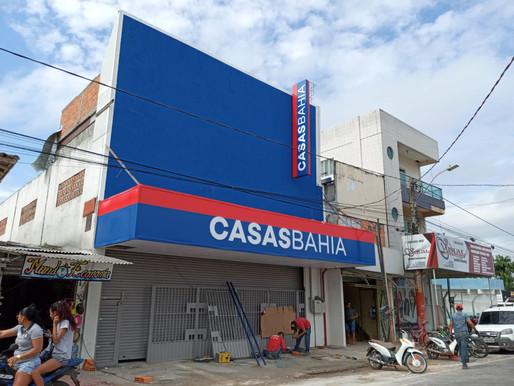 Loja Casas Bahia será inaugurada quarta-feira (30) em Barcarena