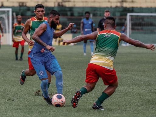 Paysandu treina com atletas da seleção de Barcarena no estádio municipal