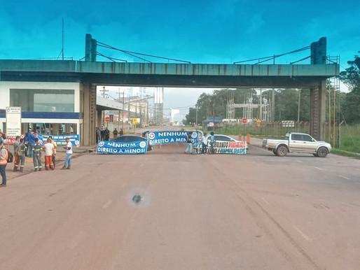 Porto de Vila do Conde é fechado por trabalhadores durante protesto