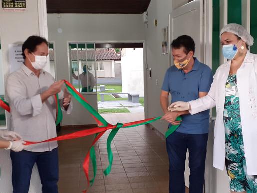 Hospital de Campanha é inaugurado em Barcarena