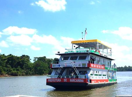 Barcarena ganha UBS fluvial para atender ribeirinhos
