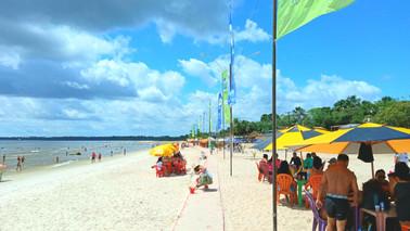 Terceiro sábado de julho tem procura moderada em praias de Barcarena