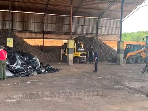 Polícia Federal apreende em Barcarena 146 mil toneladas de manganês