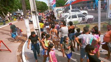Inauguração do Mateus na Vila dos Cabanos leva milhares de pessoas às compras
