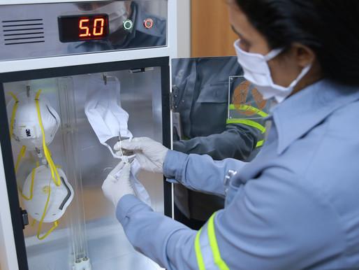 Hydro usa tecnologia com raios ultravioleta para prevenir da COVID-19