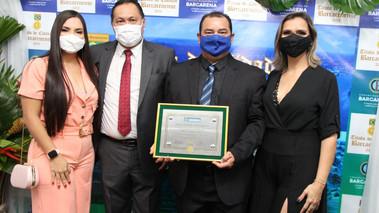 Dezesseis personalidades recebem título de Cidadão Barcarenense