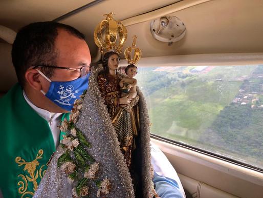 Imagem de Nossa Senhora de Nazaré sobrevoará céus de Barcarena