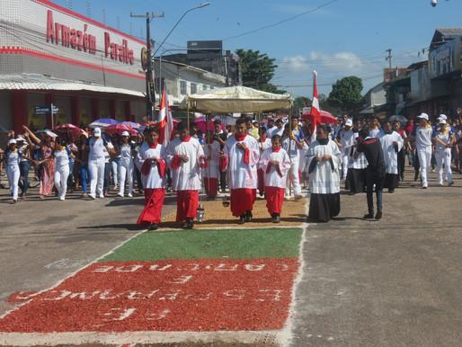 Católicos de Barcarena celebrarão Corpus Christi sem tapete e sem procissão com o povo