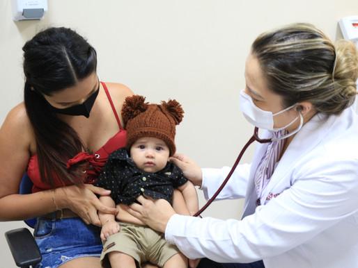 Materno-Infantil de Barcarena dá dicas de cuidados com a saúde dos bebês no Inverno Amazônico