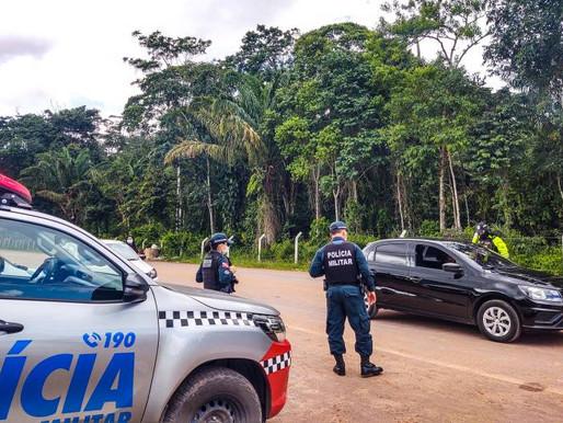 Governo do Pará realiza operação na praia do Caripi para cumprimento do decreto