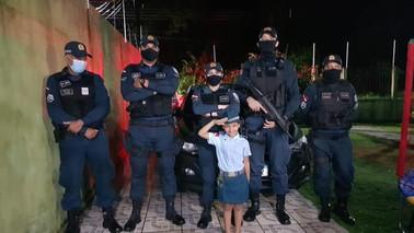 Em Barcarena, policiais fazem surpresa para garotinha em seu aniversário temático da PM