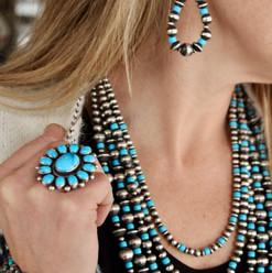 Navajo Sleeping Beauty Turquoise