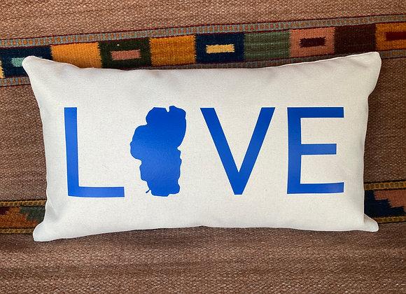 LOVE Tahoe Pillow