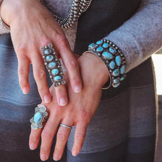 Golden Hills Bracelets & Ring