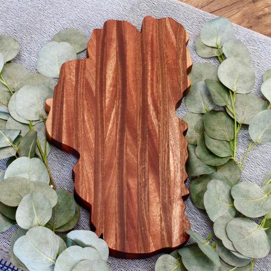 Rustic Incline Cheese Board