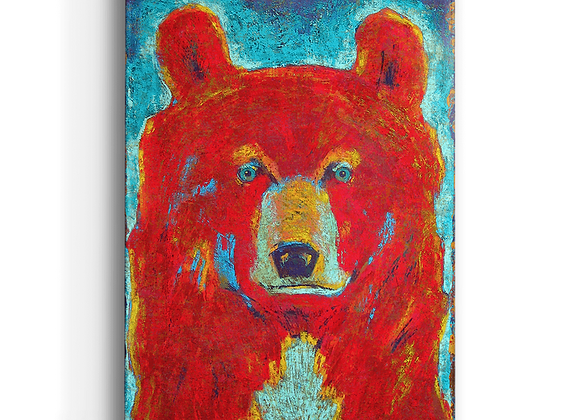 Pendleton Bear Box Art