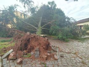Paraná em alerta de tempestade nesta quinta-feira